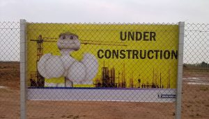 Michelin under construction ©